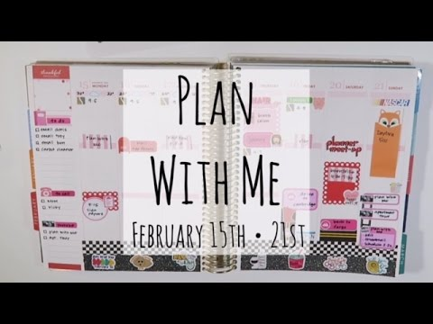 Plan With Me | February 15th - 21st
