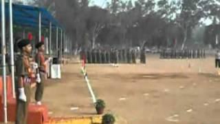 parade in sainik school purulia