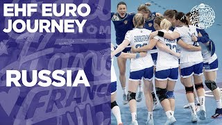 EHF EURO JOURNEY | RUSIA | Women's EHF EURO 2018