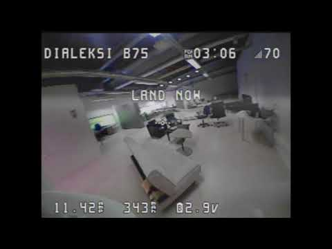 Beta75 brushless first fly