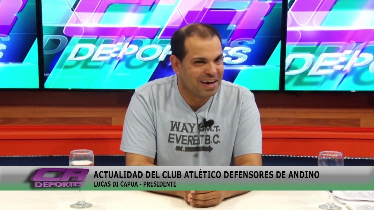 Lucas Di Capua en vivo en los estudios de CR Deportes