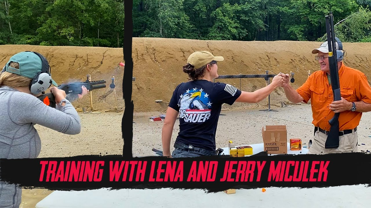 Shotgun Competition Training with Lena and Jerry Miculek | With Kat