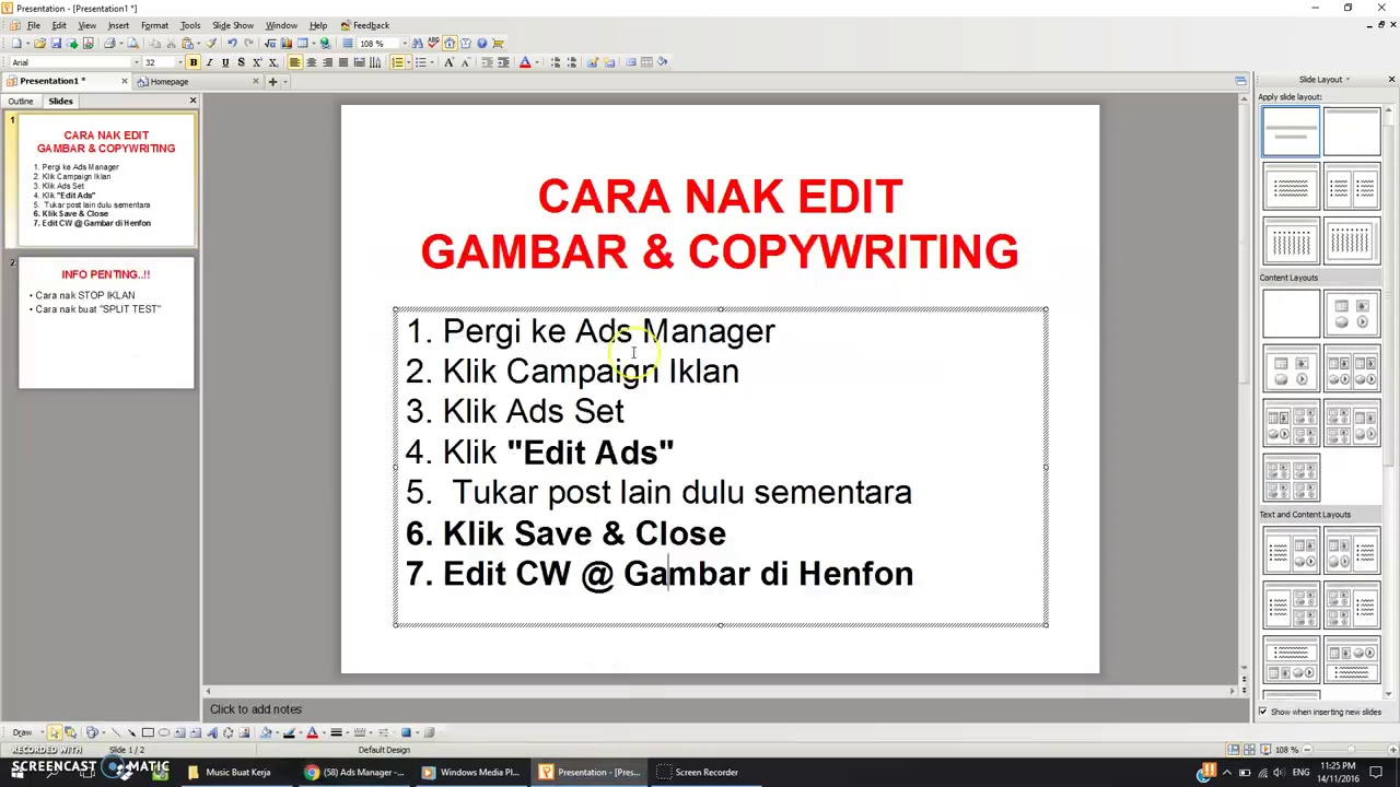 CARA EDIT IKLAN . . - YouTube