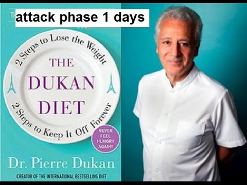 Duke Day Dukan Diet How Long Is Attack Phase