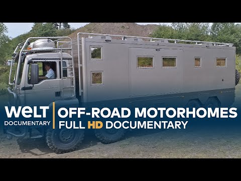 Off-Road Caravan Monsters