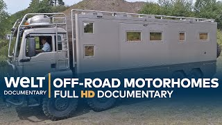 Off-Road Caravan Monsters - Motorhomes For Adventures | Full Documentary