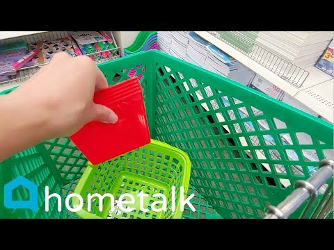 Grab Dollar Store bins to copy these amazing farmhouse storage ideas! | Hometalk