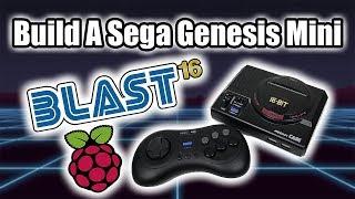 DIY Sega's Genesis Mini Blast 16 + Raspberry Pi = Ultimate Sega Mini Full Setup Guide