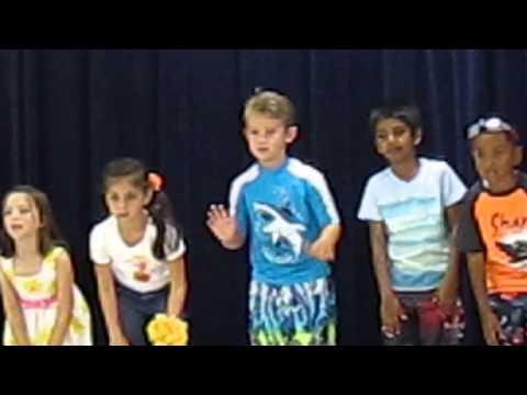D's Kindergarten End of Year Show: Dominic's kindergarten class end of year show.  Love the Florida alphabet song!