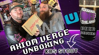 The Last Physical Release For The Wii U – Axiom Verge Unboxing   Gaming Off The Grid