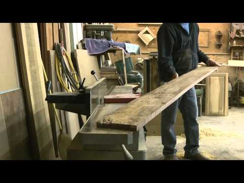 Three methods for getting a straight edge on rough lumber