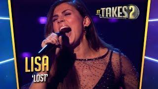 It Takes 2: Lisa Michels zingt Lost in halve finale