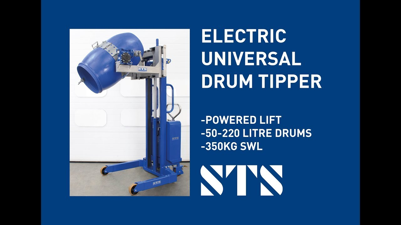 Electric Lift Drum/Barrel Lifter and Tipper (Model: STE01-DRU01)