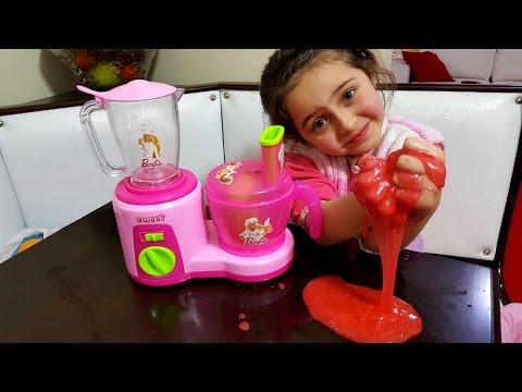 Mikser (Mutfak Robotu) Ile Slime Yapımı (Slaym)