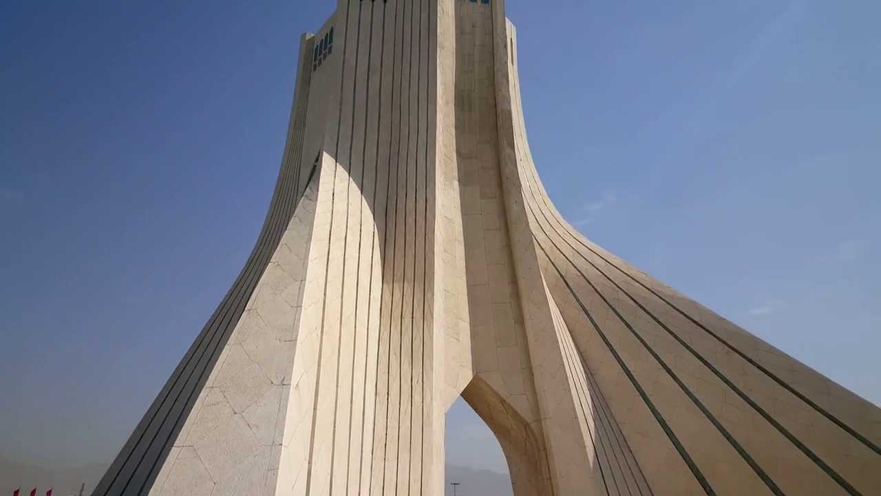 TEHRAN - Azadi Tower (agosto 2015) - YouTube