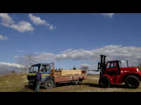 IPO Lifts 4x4 Rough Terrain Forklift