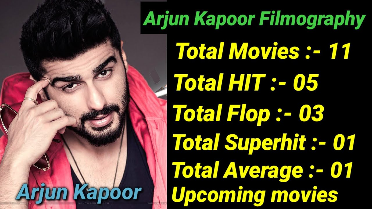Arjun Kapoor Box Office Collection Analysis Hit and Flop ...