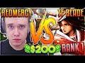 REDMERCY VS TF BLADE (RANK 1 NA) | $200 1v1 SHOWDOWN!! Season 2 - League of Legends