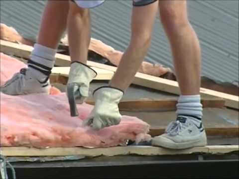 How To Install A Colorbond Steel Roof Youtube