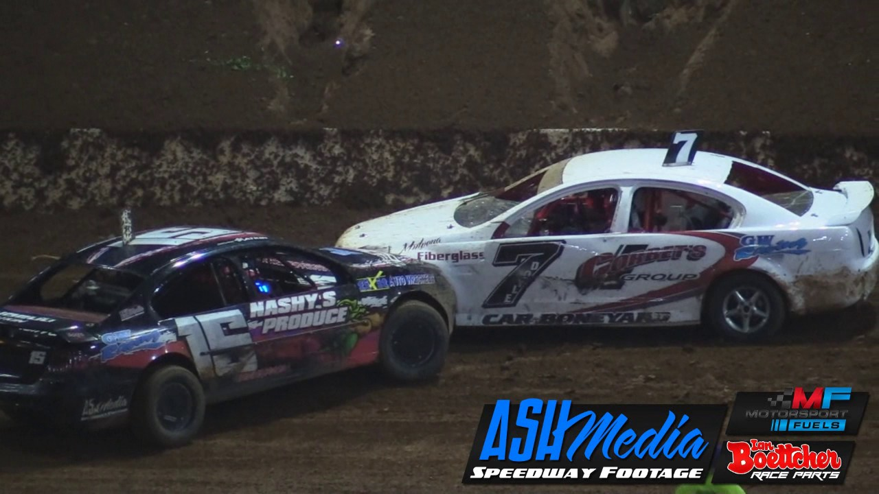 Modified Sedans Queensland Title A Main Race Highlights Apr