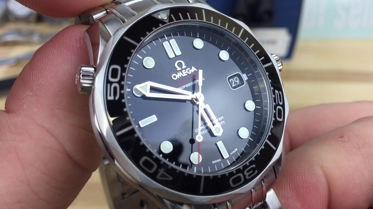 ae62cea8cd9 Omega seamaster professional 300 ceramic black for sale - YouTube