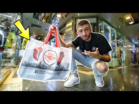 SHOPPING at BIGGEST SNEAKER STORE in HONG KONG! SO MANY SHOES!