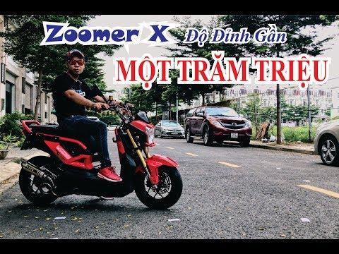 Honda Zoomer Độ Gần TRĂM TRIỆU Của Dân Chơi Sài Gòn.