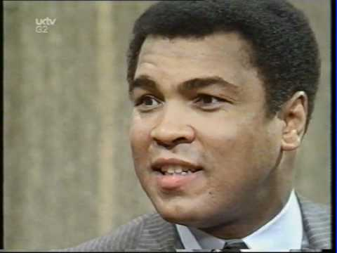 Muhammad Ali Parkinson Interview 1981 (better sound)