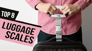 BEST LUGGAGE SCALES! (2020)