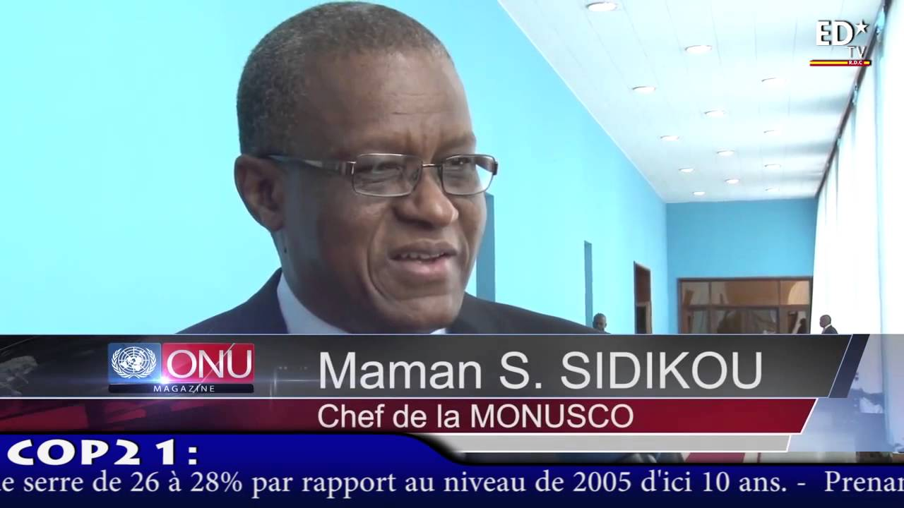 MONUSCO: MAMAN SAMBO  SIDIKOU ENTRE EN FONCTION ET PRONE LE DIALOGUE...