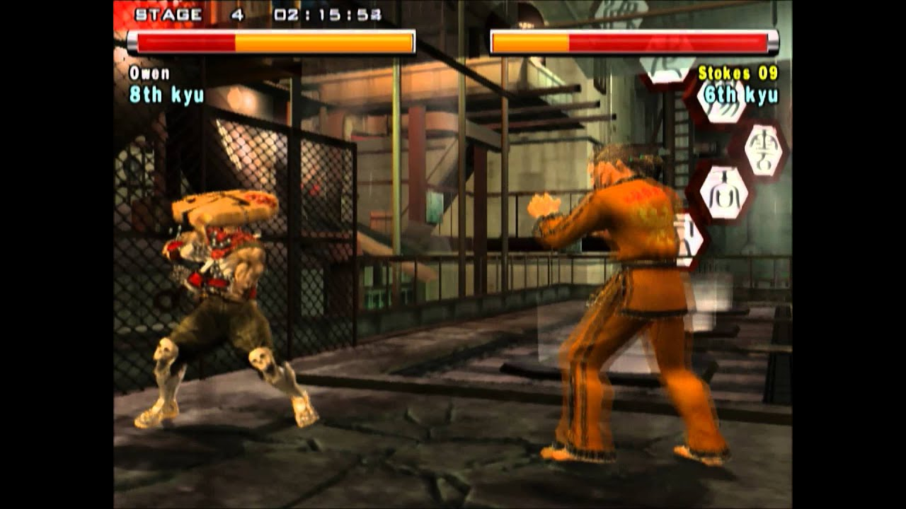 Tekken 5 - Yoshimitsu with Raven's Moves #2