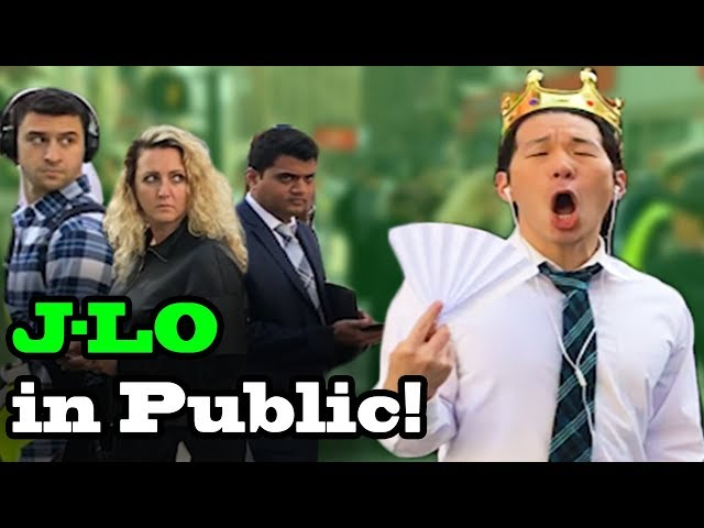 Jennifer Lopez (JLo) - EL ANILLO - SINGING IN PUBLIC!!