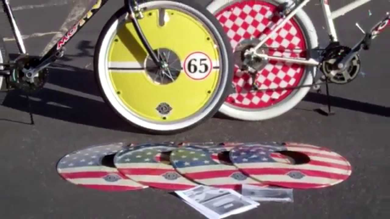 Cheap Mountain Bicycle With Deko Discs Wheel Covers Youtube