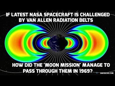 Flat Earth - The Moon Landing | The Van Allen Belts | NASA Deception