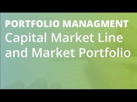 Capital Market Line and Market Portfolio | Portfolio Management