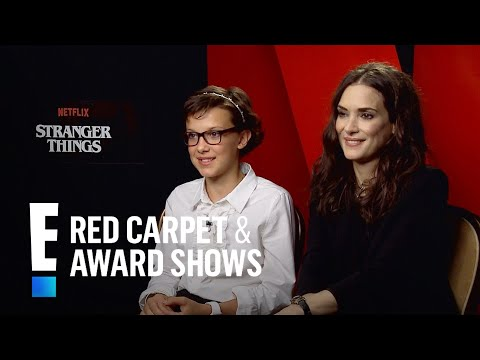 Winona Ryder & Millie Bobby Brown on