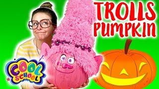 Trolls Princess Poppy Pumpkin DIY for Halloween 2017! | Arts and Crafts with Crafty Carol