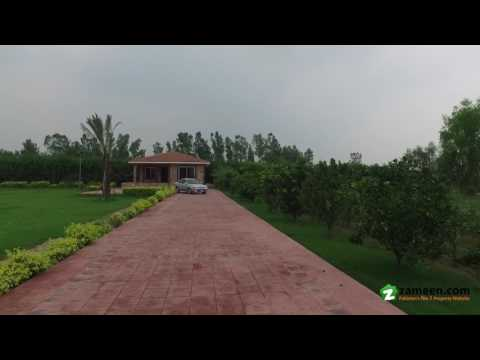 8 KANAL BEAUTIFUL BRAND NEW FARM HOUSE IS AVAILABLE FOR SALE IN BARKI ROAD LAHORE