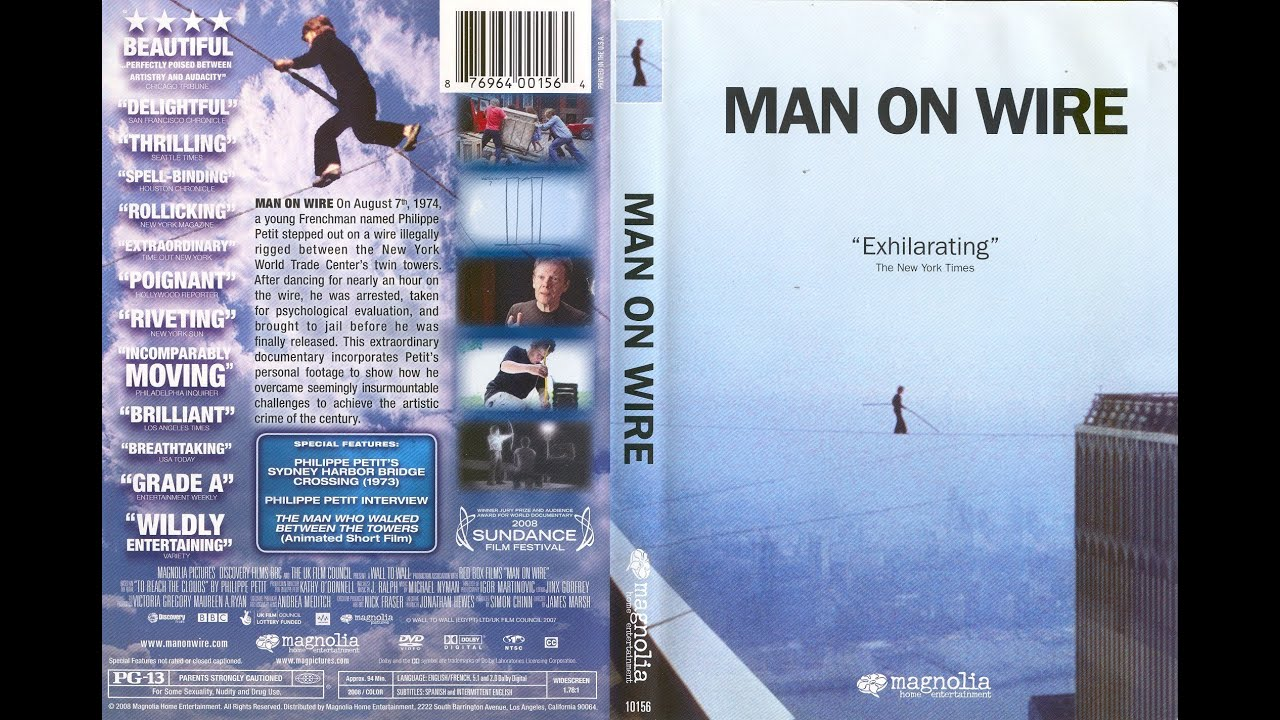 Image result for Man on Wire