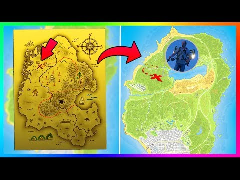 GTA 5 SECRET TREASURE MAP! - JETPACK MENTIONED IN GTA ONLINE AS THE MOUNT CHILIAD MYSTERY CONTINUES!