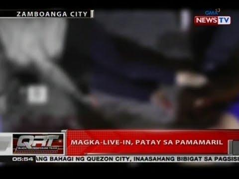 QRT: Magka-live-in, patay sa pamamaril