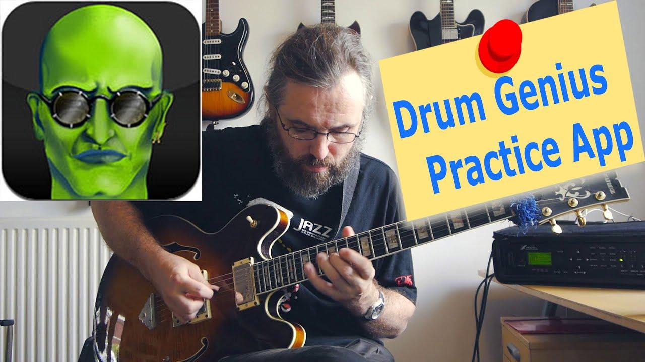 Drumgenius - A great Practice App for Jazz guitarists!!