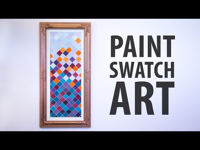 Paint Swatch Art: 15 Steps (with Pictures)