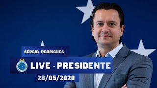 Live do Presidente  - Sérgio Santos Rodrigues