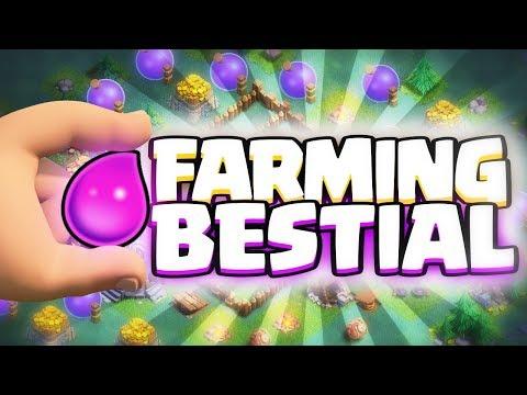 FARMING BESTIAL EN LA ALDEA DEL CONSTRUCTOR | Clash of Clans