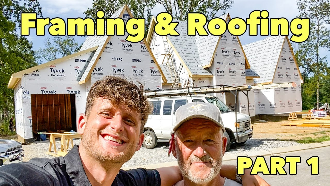 Building My Dad's Dream House in America!! Part 1!!