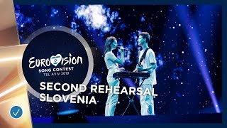 Slovenia 🇸🇮 - Zala Kralj & Gašper Šantl - Sebi - Exclusive Rehearsal Clip - Eurovision 2019