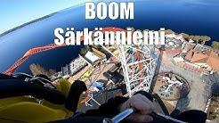 Boom - Särkänniemi's 2019 attraction - 4G launch to 68 meters - POV onride