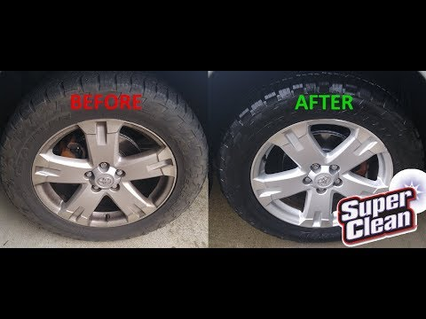 Remove Brake Dust With Castrol Super Clean!
