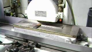 HARIG 618 AUTO-STEP SURFACE GRINDER IN OPERATION @ ROHNER MACHINERY SALES